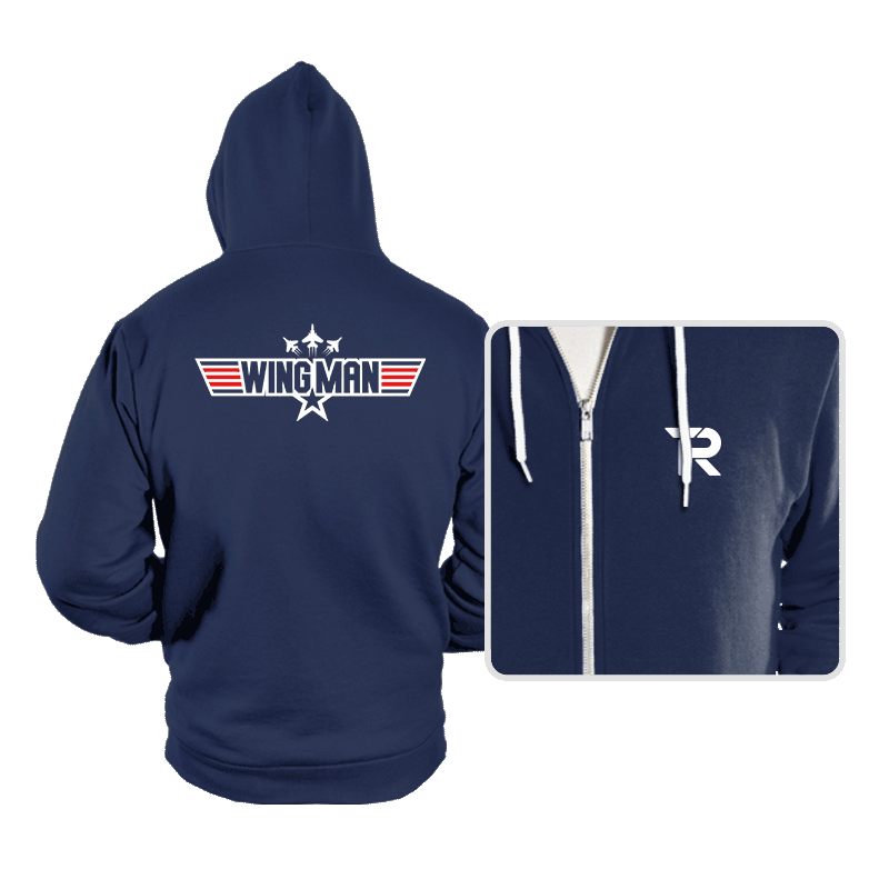 You Can Be My WINGMAN Anytime - Hoodies - Hoodies - RIPT Apparel