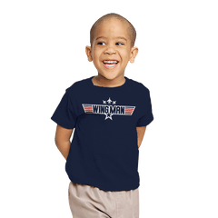 You Can Be My WINGMAN Anytime - Youth - T-Shirts - RIPT Apparel