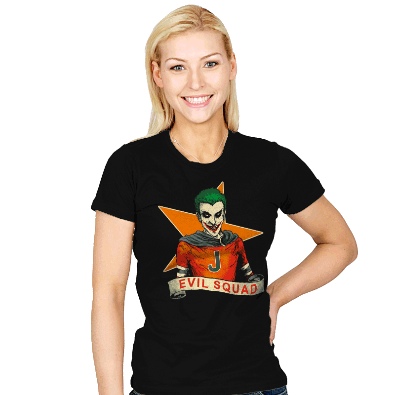 Evil Squad - Womens - T-Shirts - RIPT Apparel