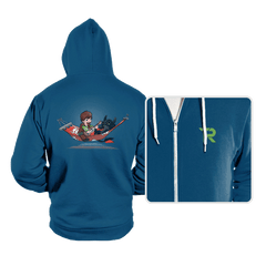 Aloha Dragon - Hoodies - Hoodies - RIPT Apparel