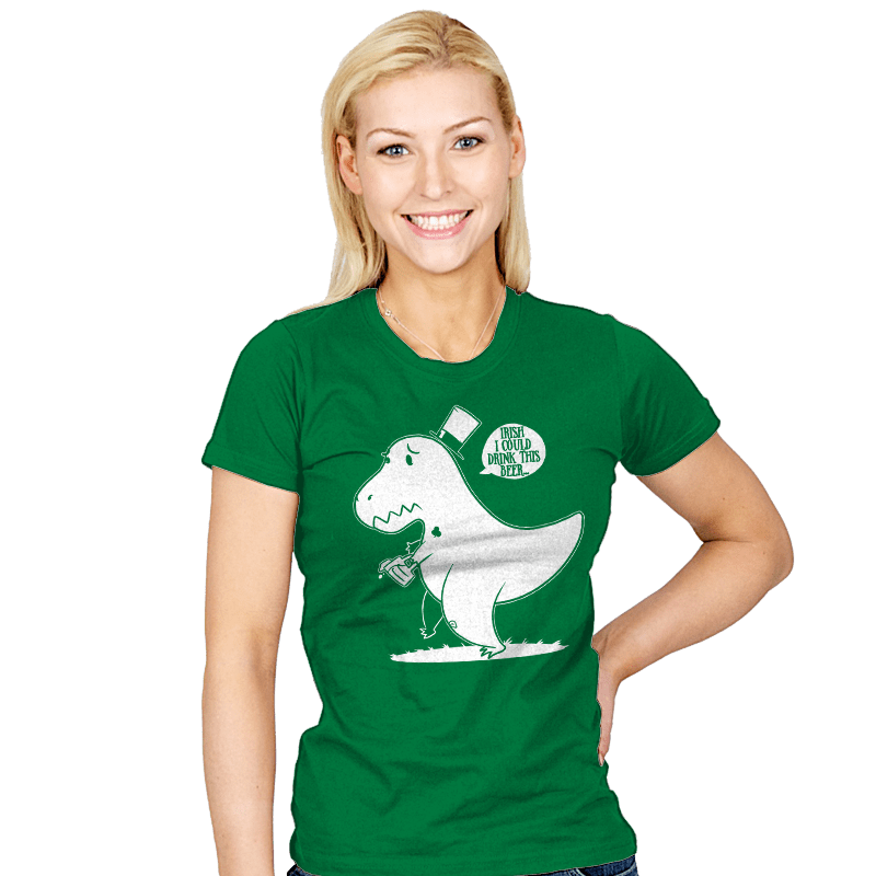 Irish I Could Drink Exclusive - Womens - T-Shirts - RIPT Apparel