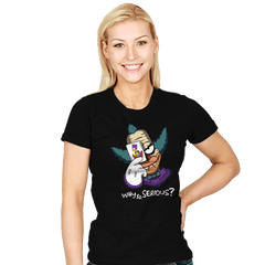 Why so Krusty? - Womens - T-Shirts - RIPT Apparel