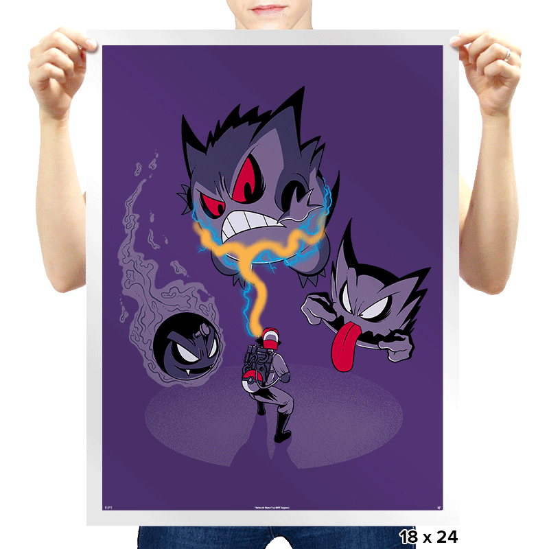 Pokebusters - Prints - Posters - RIPT Apparel