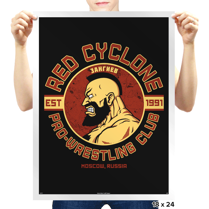 Pro-Wrestling Club - Prints - Posters - RIPT Apparel