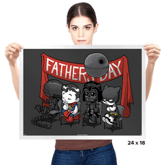 Happy Father's Day! - Prints - Posters - RIPT Apparel
