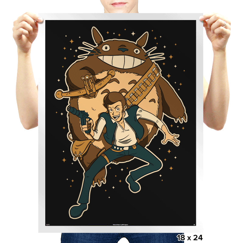 Ghibli Wars - Prints - Posters - RIPT Apparel
