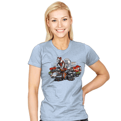 Raiders of the Lost Parts - Womens - T-Shirts - RIPT Apparel