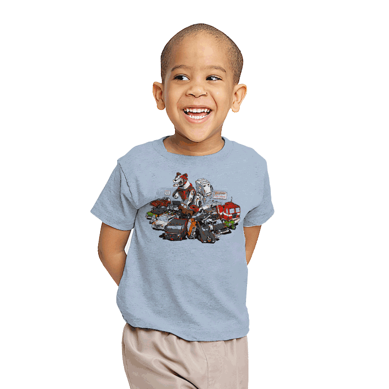 Raiders of the Lost Parts - Youth - T-Shirts - RIPT Apparel
