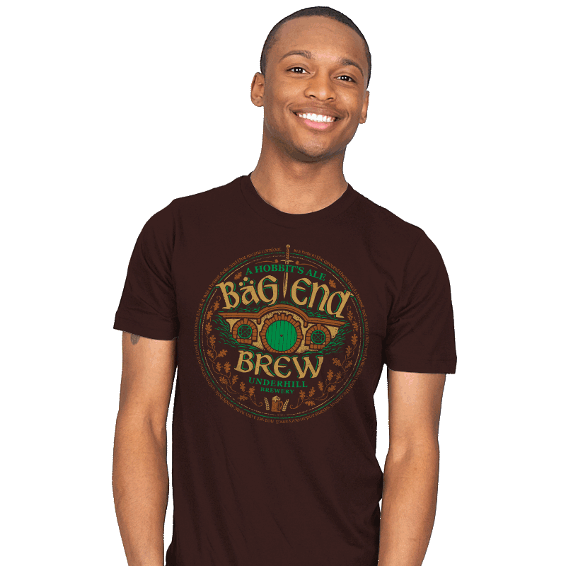Bag End Brew - Mens - T-Shirts - RIPT Apparel