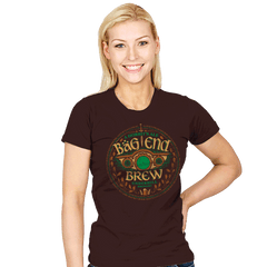 Bag End Brew - Womens - T-Shirts - RIPT Apparel
