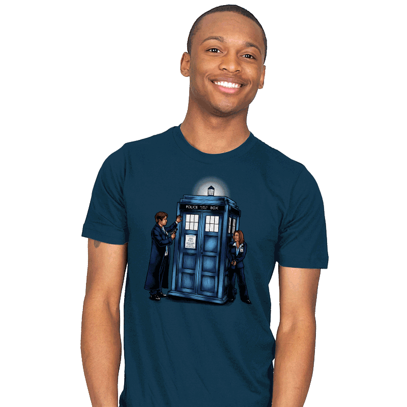 The Agents have the Phone Box - Mens - T-Shirts - RIPT Apparel