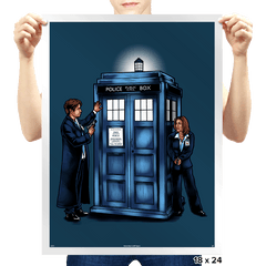 The Agents have the Phone Box - Prints - Posters - RIPT Apparel
