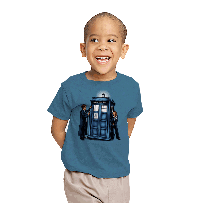 The Agents have the Phone Box - Youth - T-Shirts - RIPT Apparel