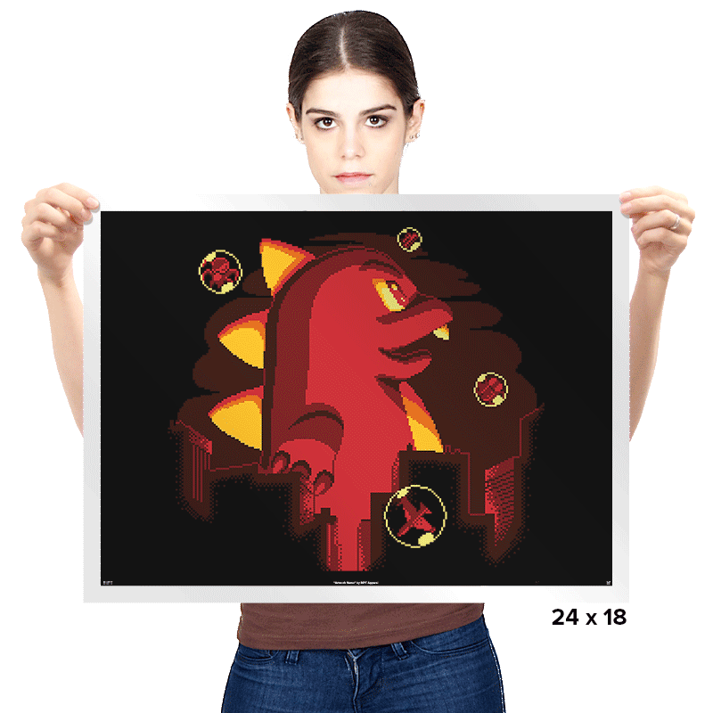 Bubblezilla - Prints - Posters - RIPT Apparel