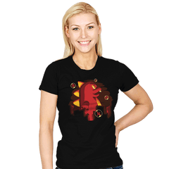 Bubblezilla - Womens - T-Shirts - RIPT Apparel