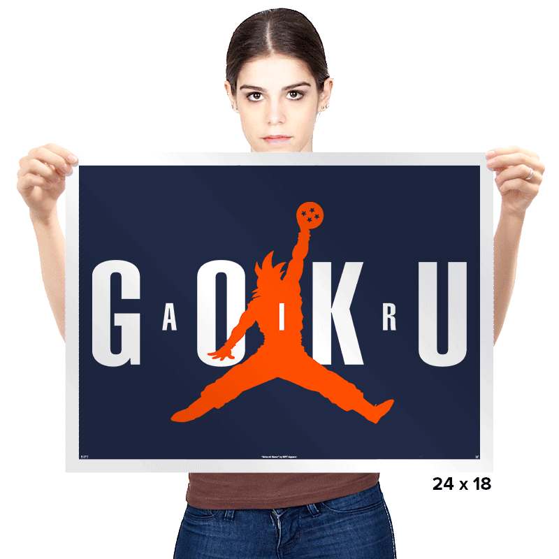 Air Goku - Prints - Posters - RIPT Apparel