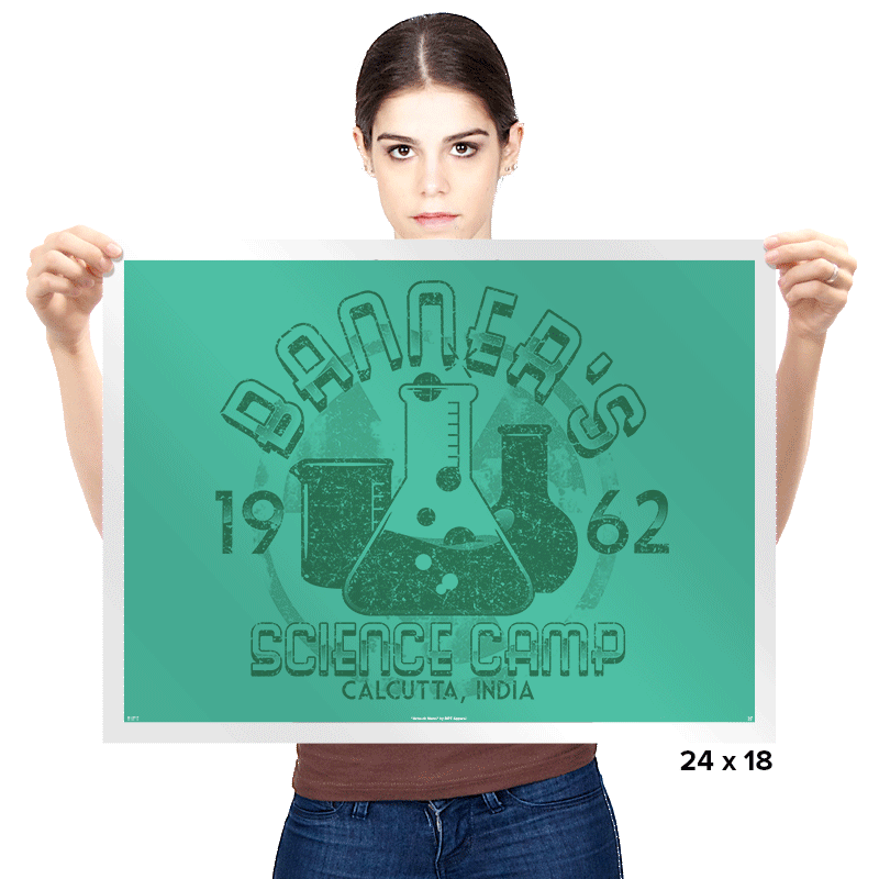 Science Camp Exclusive - Prints - Posters - RIPT Apparel