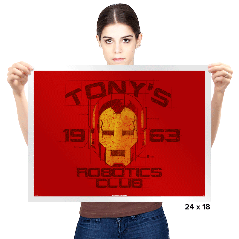 Robotics Club Exclusive - Prints - Posters - RIPT Apparel
