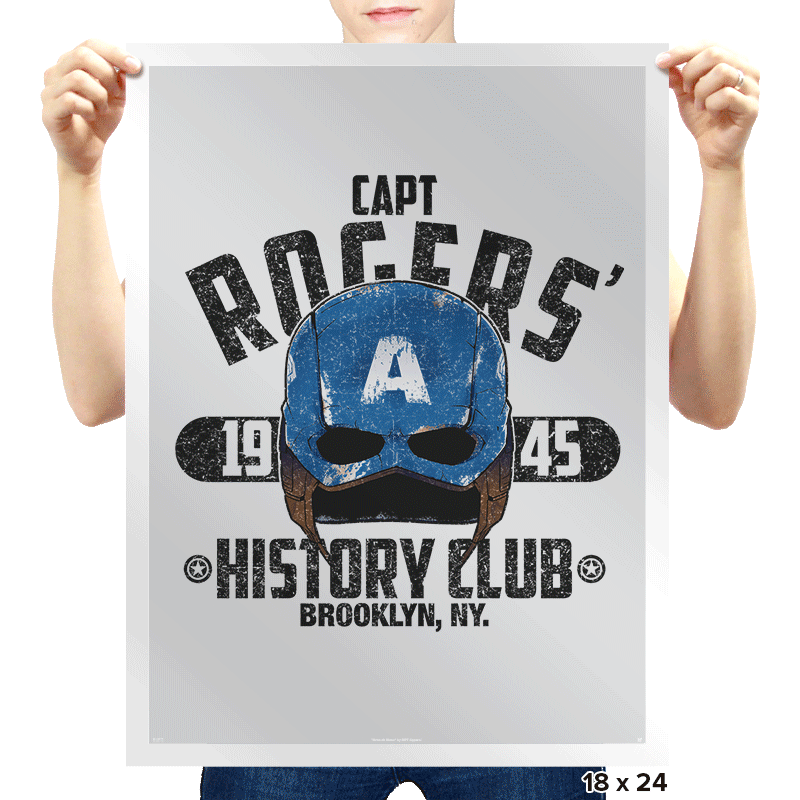 History Club Exclusive - Prints - Posters - RIPT Apparel