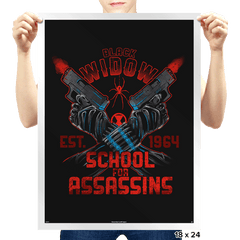 Nat's School for Assassins Exclusive - Prints - Posters - RIPT Apparel