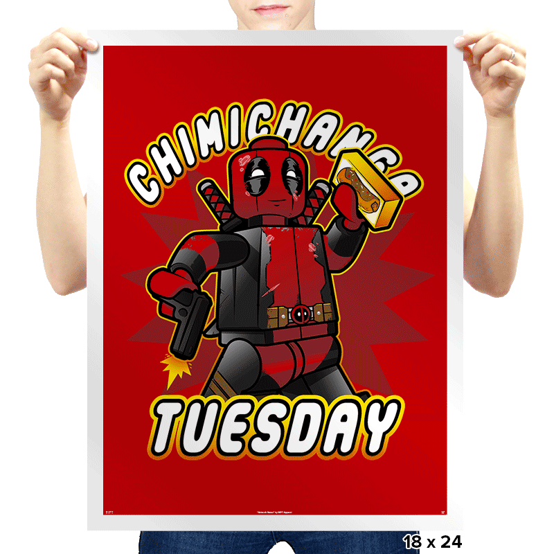 Chimichanga Tuesday Exclusive - Prints - Posters - RIPT Apparel