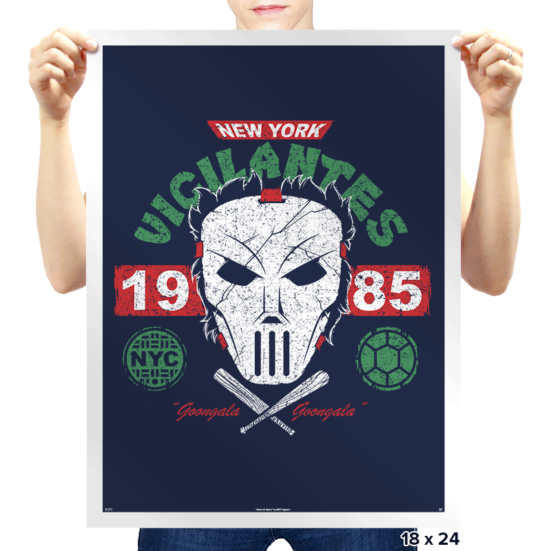 NYC Vigilantes Exclusive - Prints - Posters - RIPT Apparel