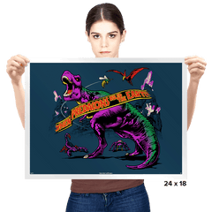 Predacon Park Exclusive - Prints - Posters - RIPT Apparel