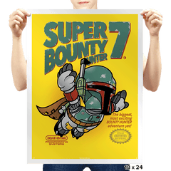 Super Bounty Hunter 7 Exclusive - Prints - Posters - RIPT Apparel