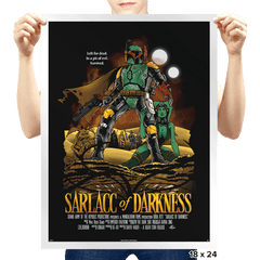 Sarlacc of Darkness Exclusive - Prints - Posters - RIPT Apparel