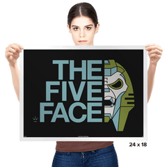 The Five Face Exclusive - Prints - Posters - RIPT Apparel