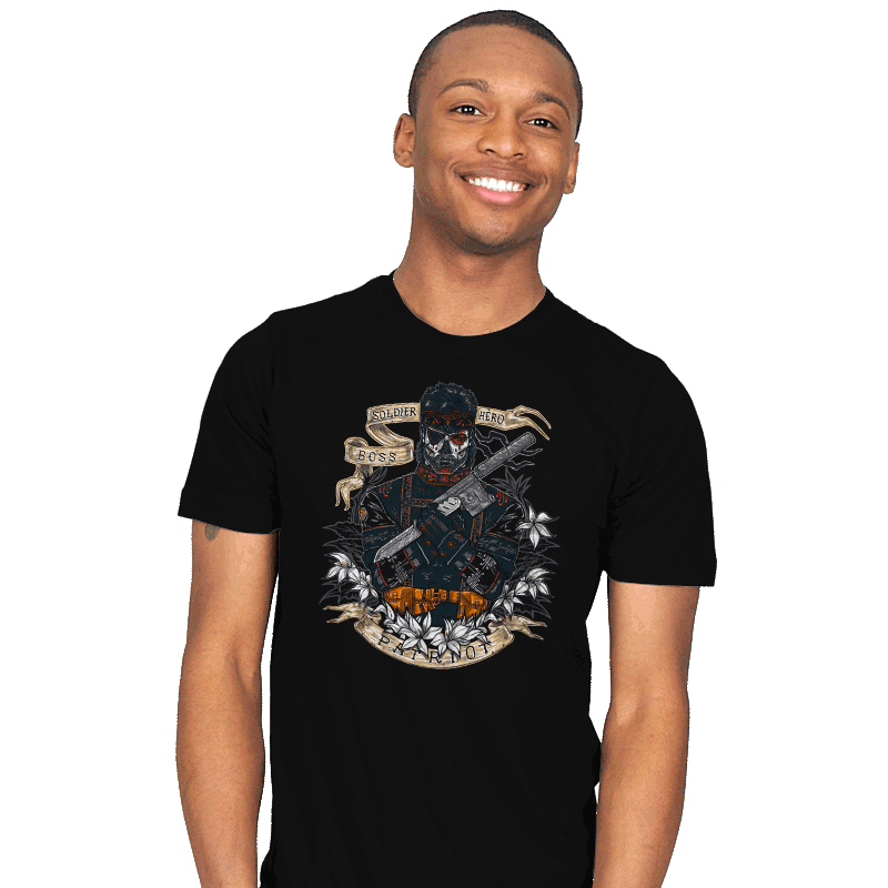 Day of the Dead Patriot - Mens - T-Shirts - RIPT Apparel
