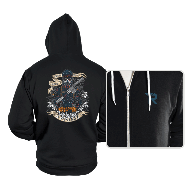 Day of the Dead Patriot - Hoodies - Hoodies - RIPT Apparel
