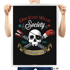 Never say die - Prints - Posters - RIPT Apparel