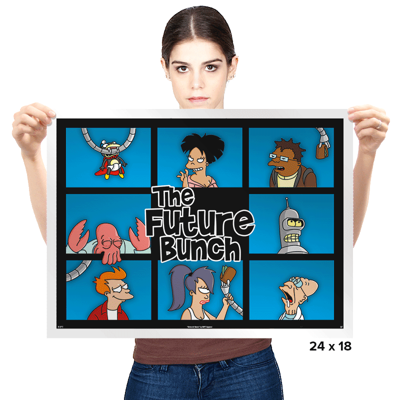 The Future Bunch - Prints - Posters - RIPT Apparel