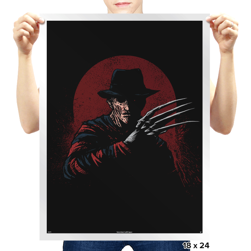 Crimson Terror - Prints - Posters - RIPT Apparel