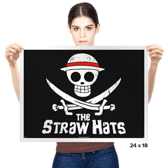 The Straw Hats - Prints - Posters - RIPT Apparel