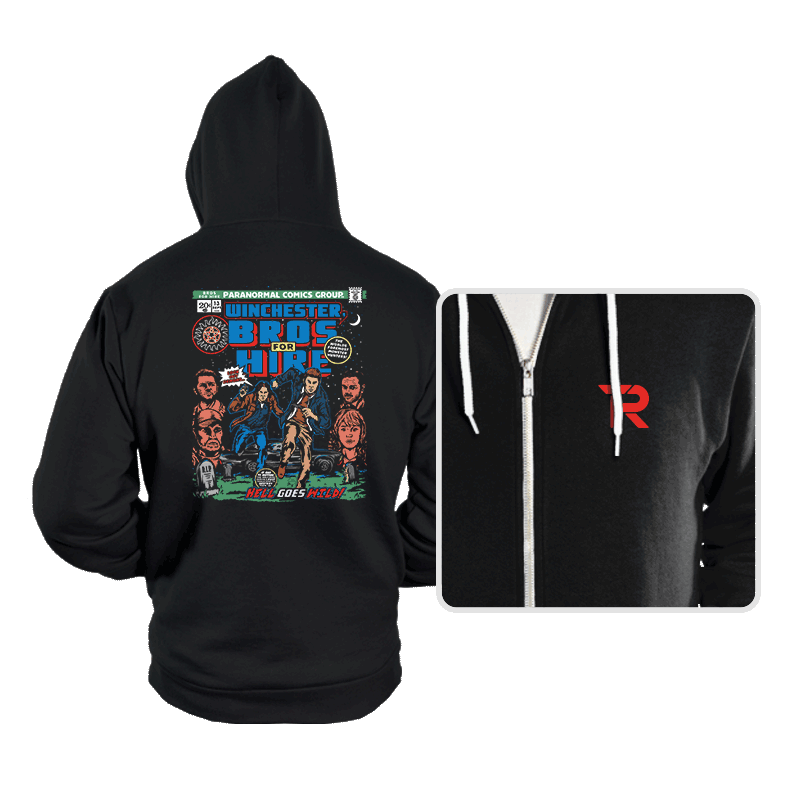 Bros For Hire - Hoodies - Hoodies - RIPT Apparel