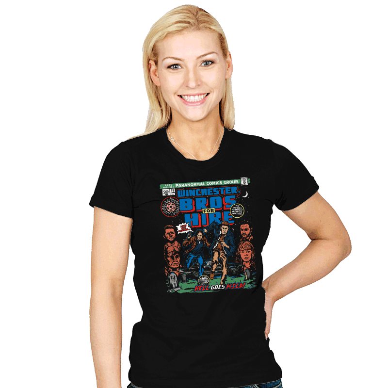 Bros For Hire - Womens - T-Shirts - RIPT Apparel