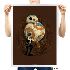 Indiana Solo Exclusive - Prints - Posters - RIPT Apparel
