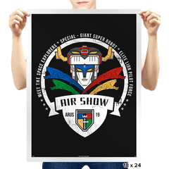 Arus Air Show - Prints - Posters - RIPT Apparel
