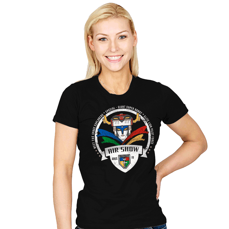 Arus Air Show - Womens - T-Shirts - RIPT Apparel