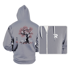 Forest Spirits Sumi-e - Hoodies - Hoodies - RIPT Apparel