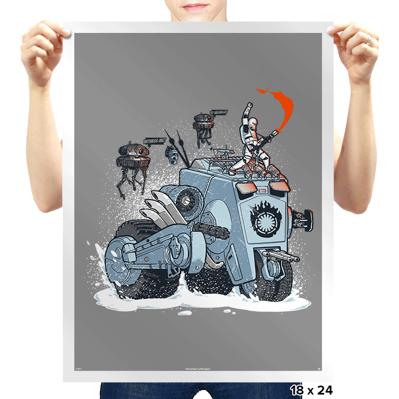 Force Road - Prints - Posters - RIPT Apparel