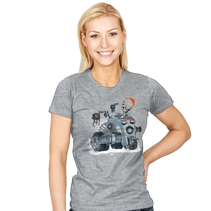 Force Road - Womens - T-Shirts - RIPT Apparel
