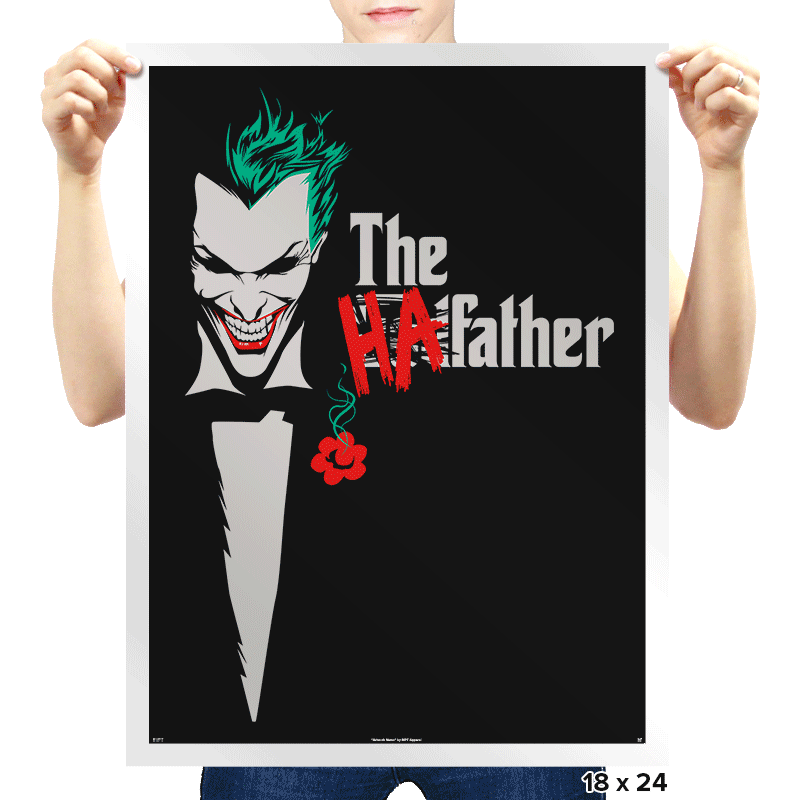 The HAfather - Prints - Posters - RIPT Apparel