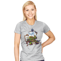 Ninja Rockwell - Womens - T-Shirts - RIPT Apparel