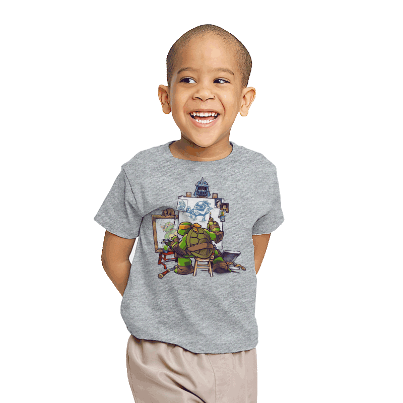 Ninja Rockwell - Youth - T-Shirts - RIPT Apparel