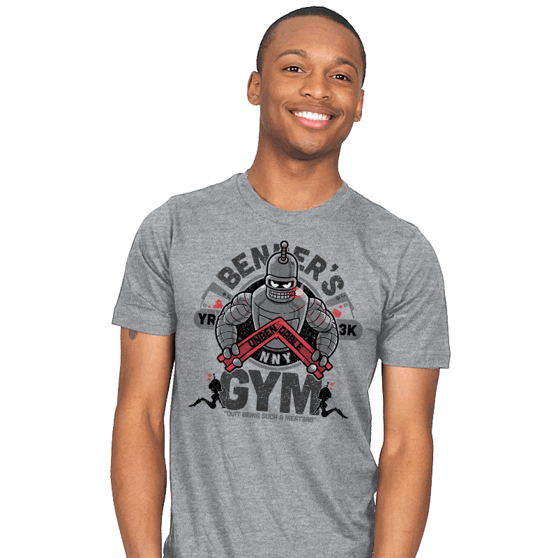 Bender's Gym - Mens - T-Shirts - RIPT Apparel