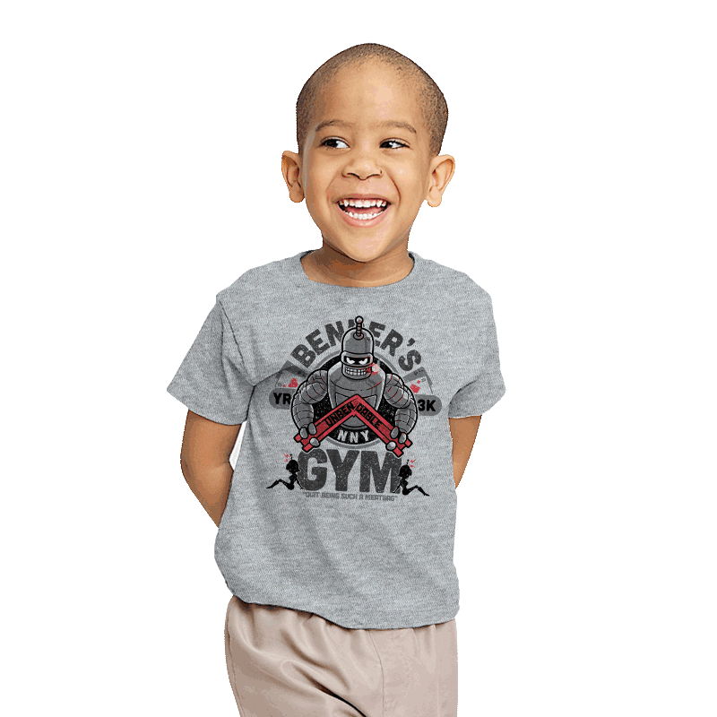 Bender's Gym - Youth - T-Shirts - RIPT Apparel