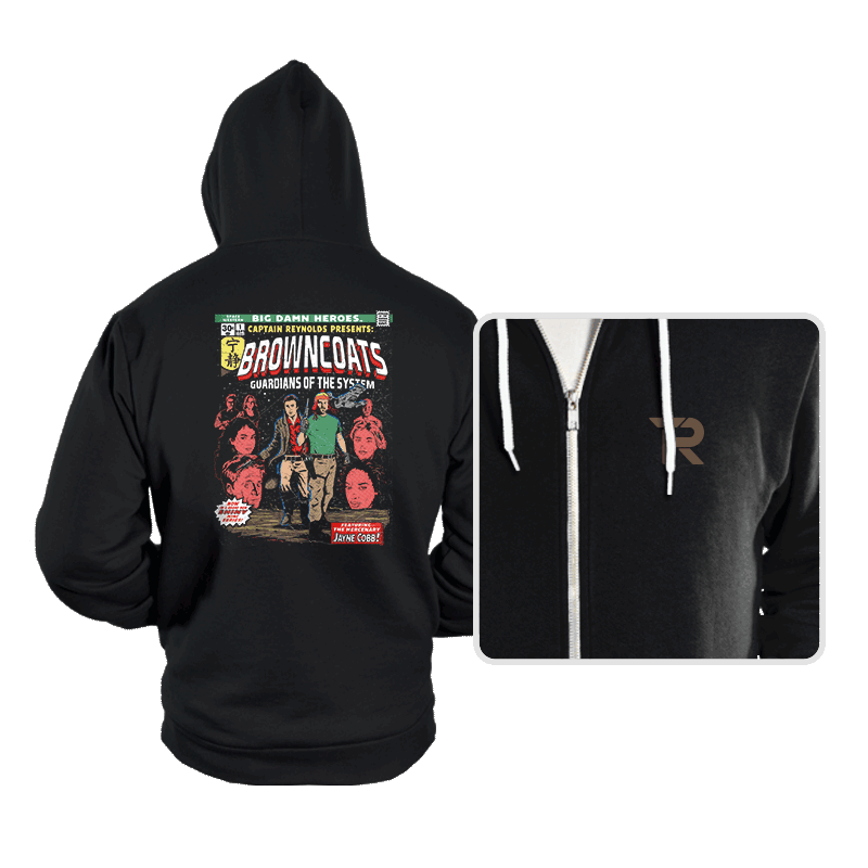 Guardians of the System - Hoodies - Hoodies - RIPT Apparel